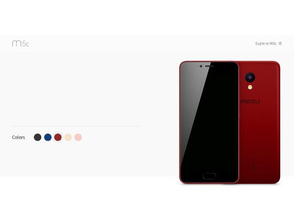 Meizu M5C images leaked: Looks stylish and elegant
