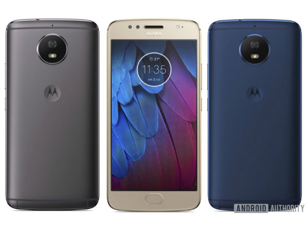 Moto G5S renders show full-metal body and Moto G5-like design