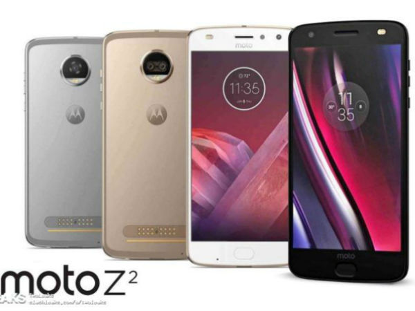 Moto Z2 Force and Z2 Play official press render hits the web
