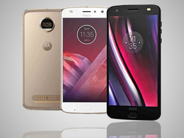 Smartphone Moto Z2 Force appeared on the render