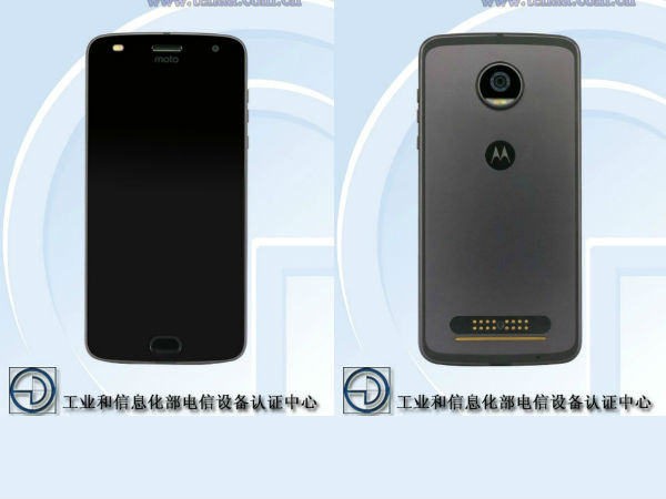 Moto Z2 Play spotted on TENAA: Key specs revealed