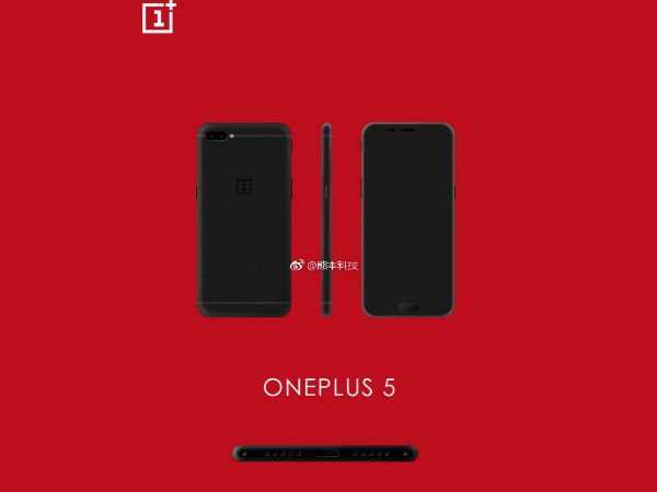New OnePlus 5 leaks show horizontal rear dual cameras