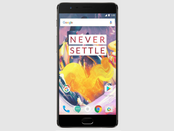 OnePlus 5 sports fingerprint scanner on front; may include 3.5mm headphone jack