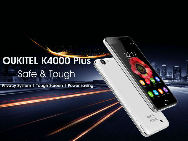 Oukitel K4000 Plus phone to have inbuilt privacy protection system