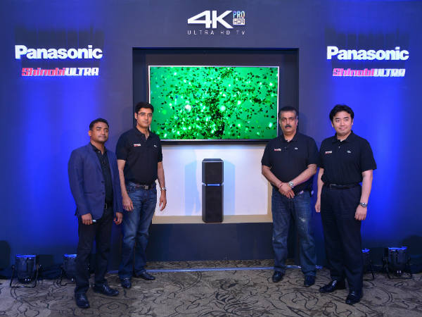 Panasonic EX750 and EX600 TV series brings cinema experience to your home