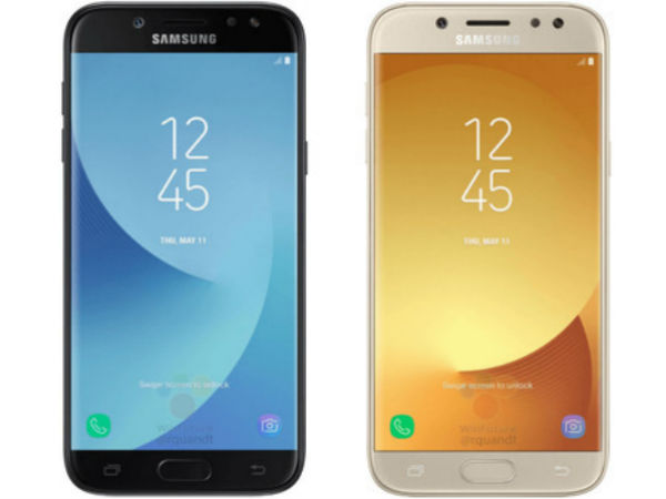 Samsung Galaxy J5 (2017) press render, full specs and price leaked