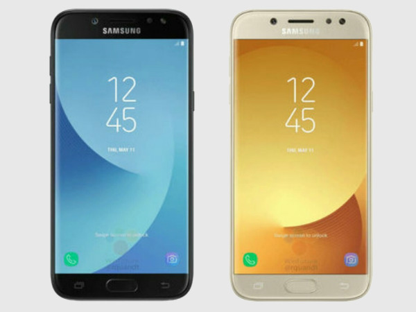 Samsung Galaxy J7 (2017) and Galaxy J5 (2017) hands-on video leaked