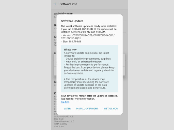 Samsung releases May security patch for several Galaxy devices