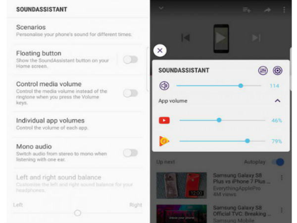 Samsung SoundAssistant app launched for Galaxy devices