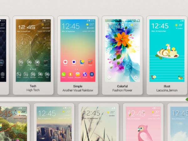 Make your Samsung Galaxy phone more colorful with these themes
