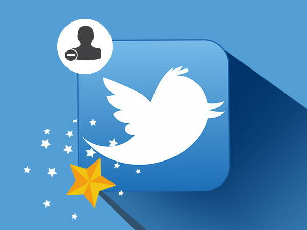 Tricks to exclude some users in Twitter reply