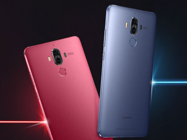 Huawei Mate 9 now available in Red and Blue colors