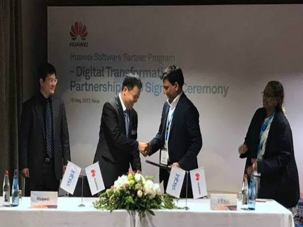 Huawei signs MOU with Infosys