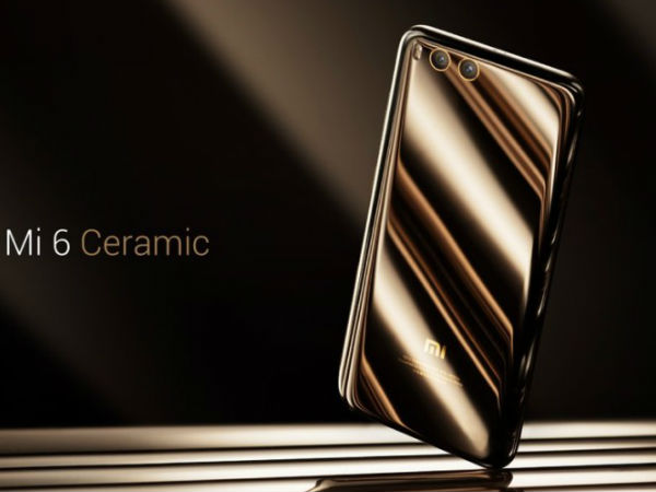 Xiaomi Mi 6 Ceramic edition to go on sale tomorrow
