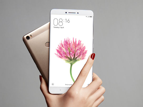 Xiaomi Mi Max 2 to be priced starting from Rs. 14,000