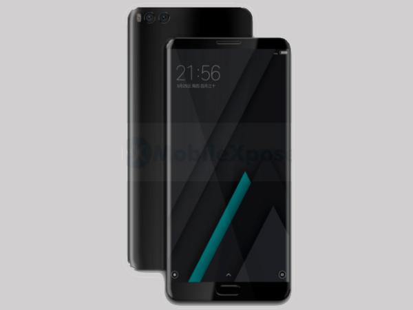 Xiaomi Mi Note 3 initial renders leaked online; has dual rear cameras