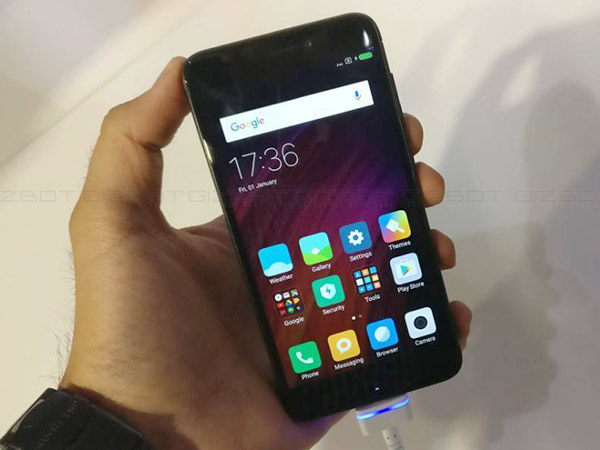 Xiaomi Redmi 4 launched in India starting from Rs. 6,999