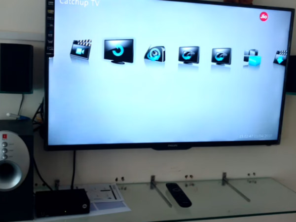 Reliance Jio DTH set-top box hands-on video hits the web