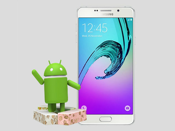 Samsung Galaxy A5 (2016) receives Android Nougat update