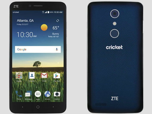 ZTE Blade X Max with 6-inch display, Android Nougat 7.1.1 launched
