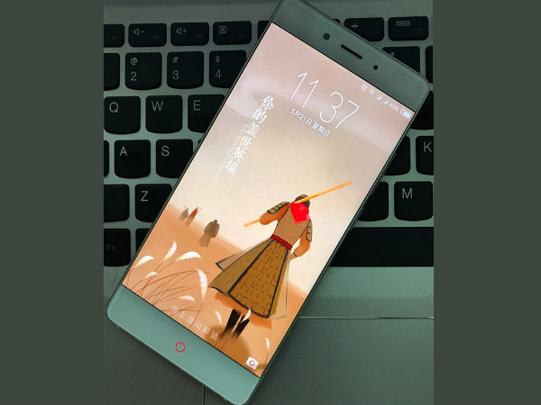 ZTE Nubia Z17 leaks again showing circular home button