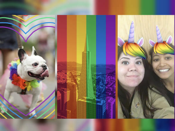 Pride-themed masks and frames added to Facebook Camera