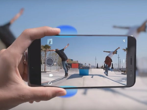 Have a look at these, HTC U11 promo videos