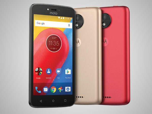 Moto C Plus will be available exclusively on Flipkart in India