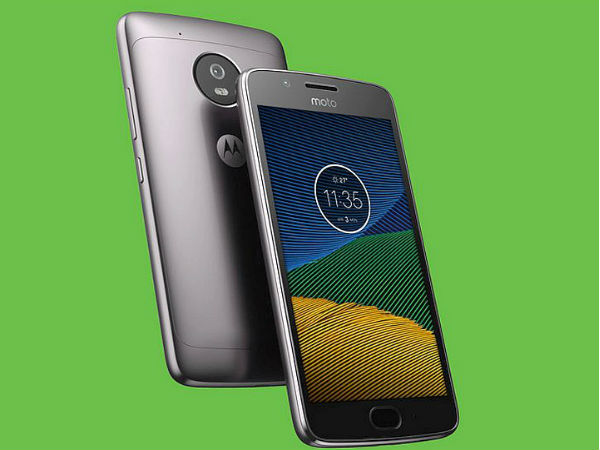 5% off on Motorola Moto G5 Plus (Gold, 32 GB)  (4 GB RAM)