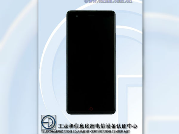 Alleged Nubia Z17 Lite spotted on TENAA: Features a slightly smaller battery