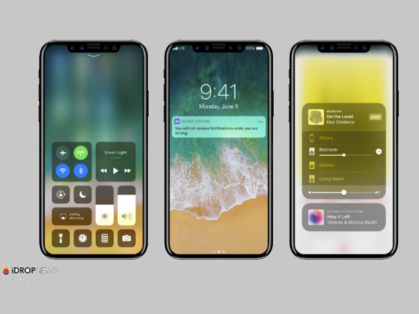 Apple iPhone 8 running iOS 11 renders leaked online