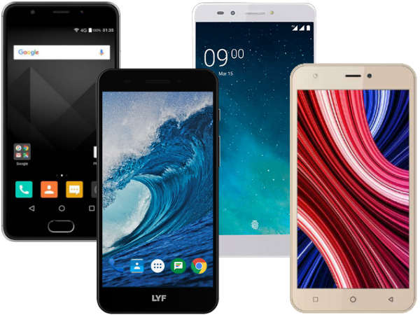 Best Indian smartphones from Micromax, LYF, Intex, Lava and more