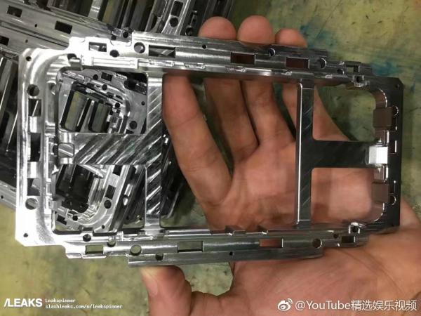 Pictures of metal frame of upcoming iPhone 8 leaked