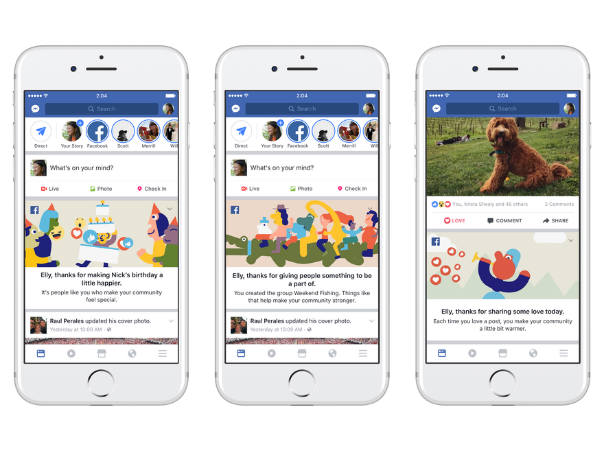Facebook adds features thanking people after reaching 2 billion users