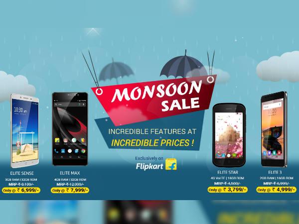 Get amazing discounts on Swipe Elite series smartphones on Flipkart
