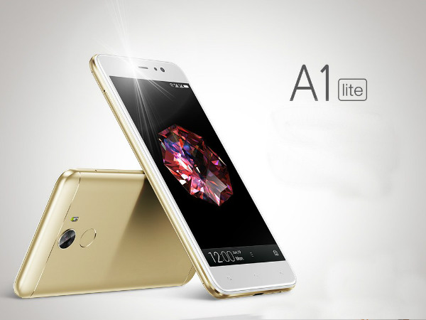 Gionee A1 lite with 20MP camera, 4000mAh battery, Nougat 7.0 launched