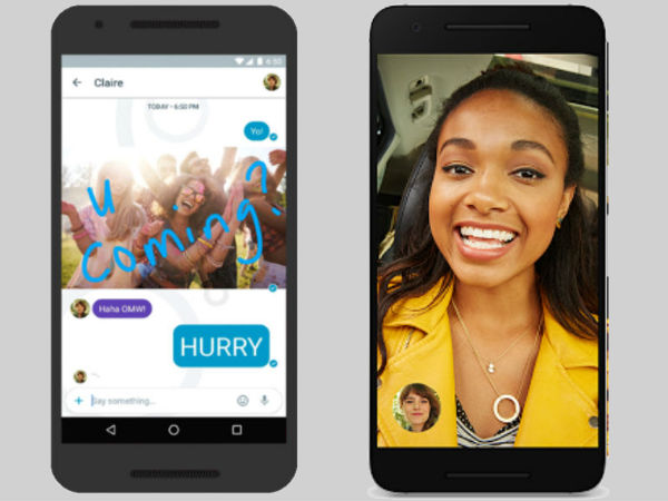 Google adds instant video call feature to its Allo messaging app