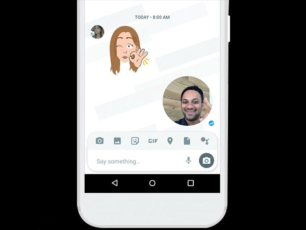 Google Allo introduces selfie clips; create your own customized GIF