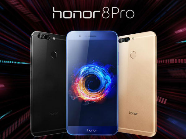 Honor 8 Pro with 6GB RAM, 4000mAh battery launched in India: Best competitors
