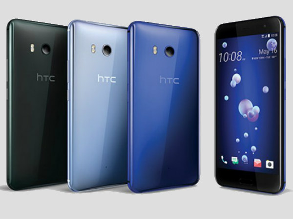 HTC rolls out first software update for its flagship HTC U11