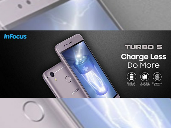 InFocus Turbo 5 with 5000mAh battery to be launched in India on June 28