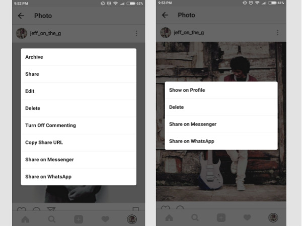 Instagram now adds Archive feature: Find out what it does
