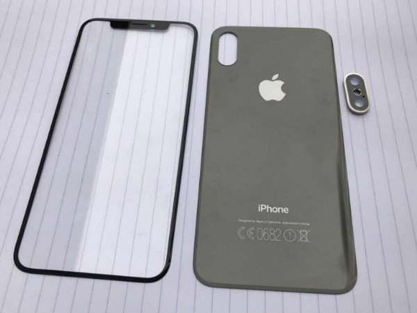 Apple iPhone 8 display and back panel images leaked online
