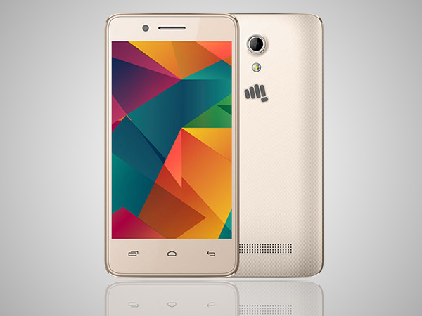 Micromax Bharat 2 sales cross 500,000 units in 50 days