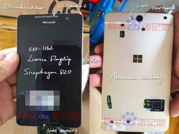 This is what Lumia 960 would have looked like if it was launched