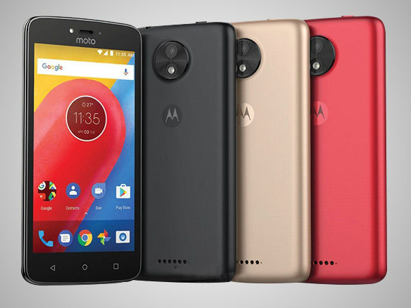 Moto C budget smartphone launched in India: Price, Features & more