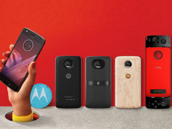 Moto Z2 Play with 4GB RAM launched at Rs. 27,999; pre-bookings open