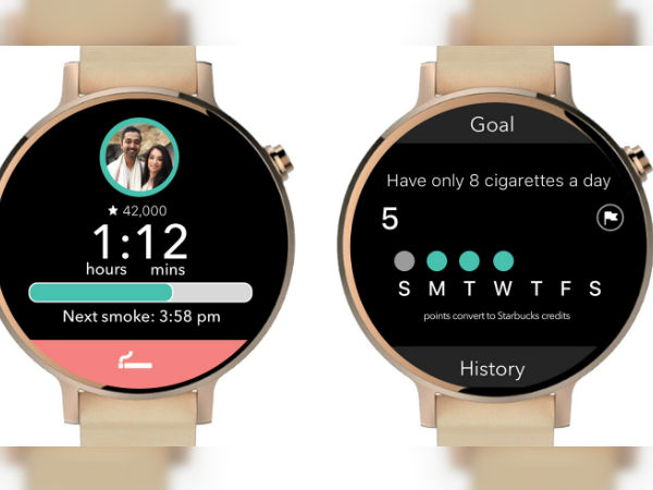 New Android Wear App Cue will help you cut down on cigarettes