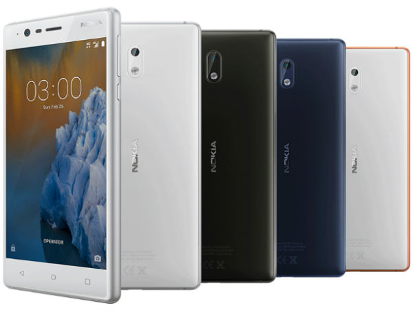 Nokia 3 now available in India at Rs. 9,499: Threat to best budget smartphones