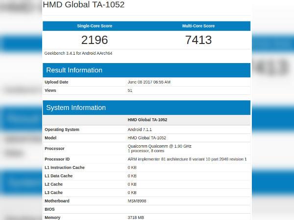 Nokia 9 'TA-1004' Receives Bluetooth Certification